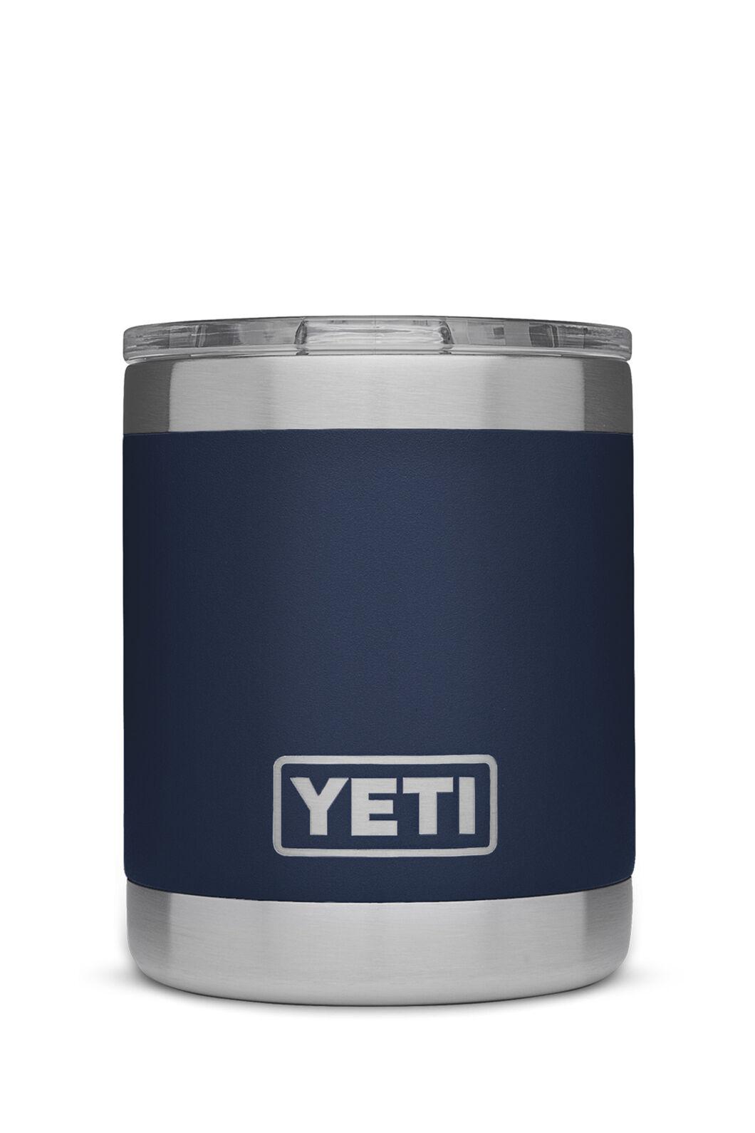 Yeti Rambler Lowball Tumbler Stainless Steel, Navy, hi-res