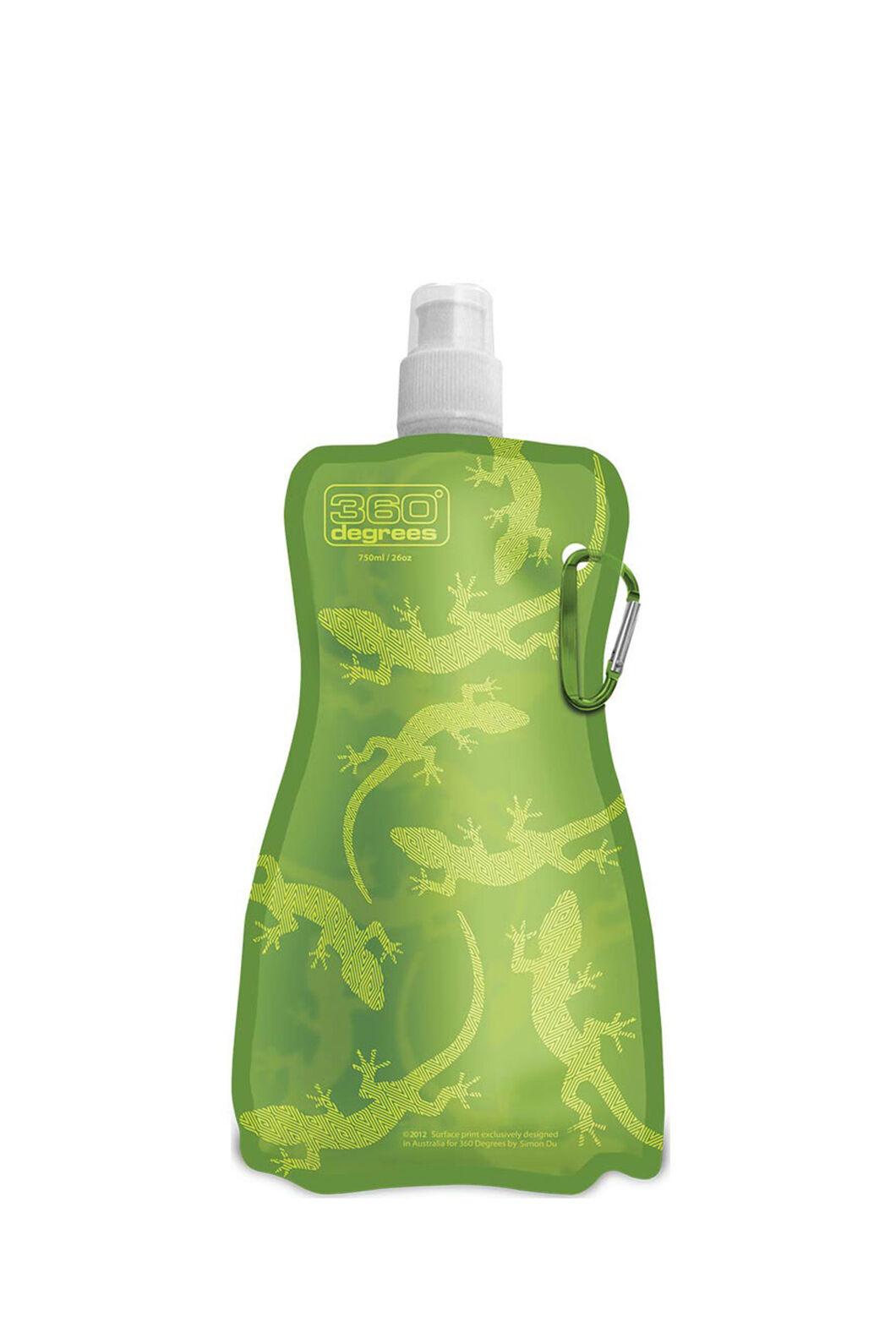 360 Degrees Flexi Drink Bottle — 750 ml, Gecko, hi-res