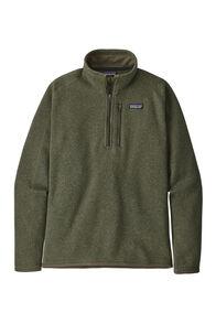 Patagonia Men's 1/4 Zip Better Sweater®, Industrial Green, hi-res