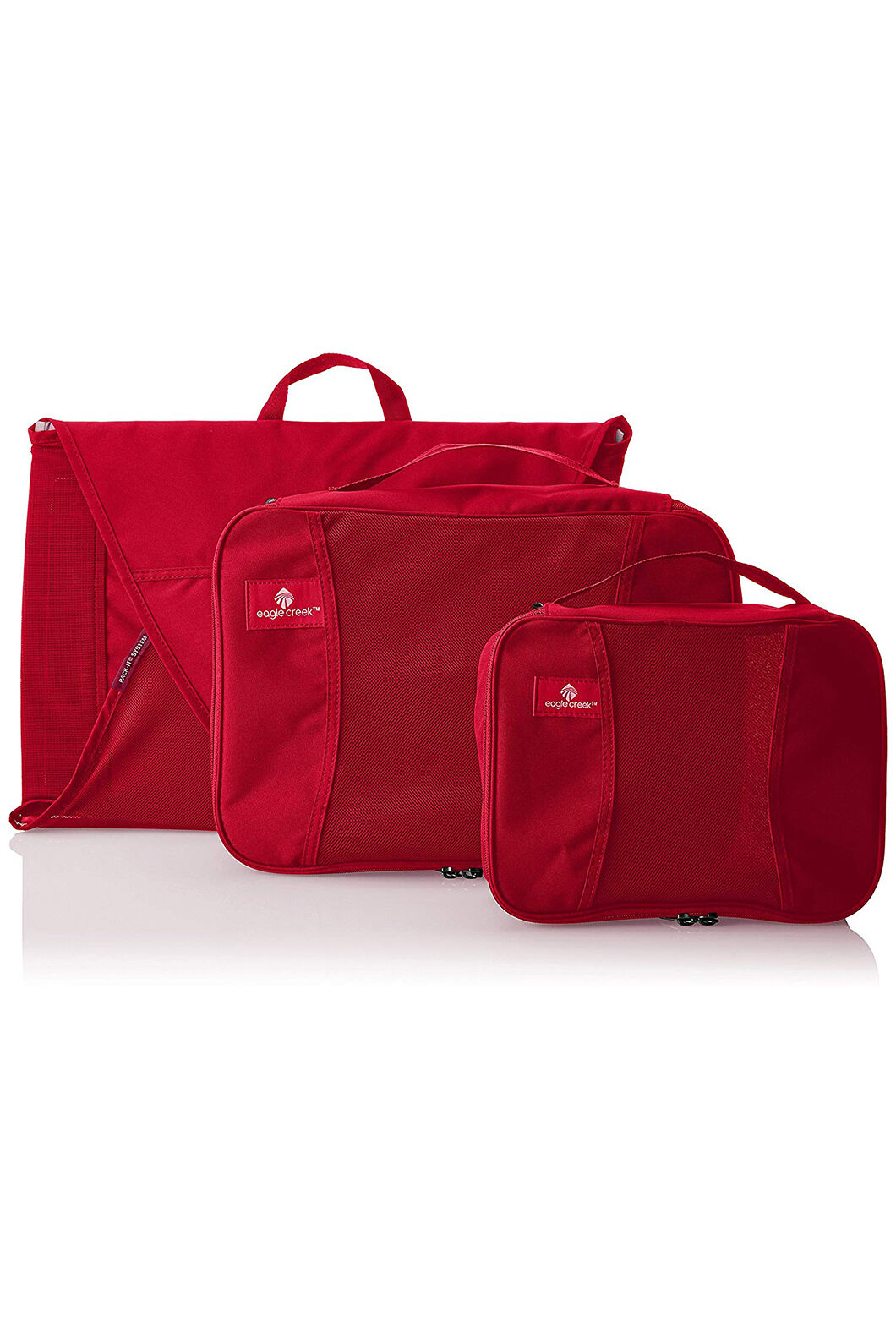 Eagle Creek Pack-It Starter Set, RED FIRE, hi-res