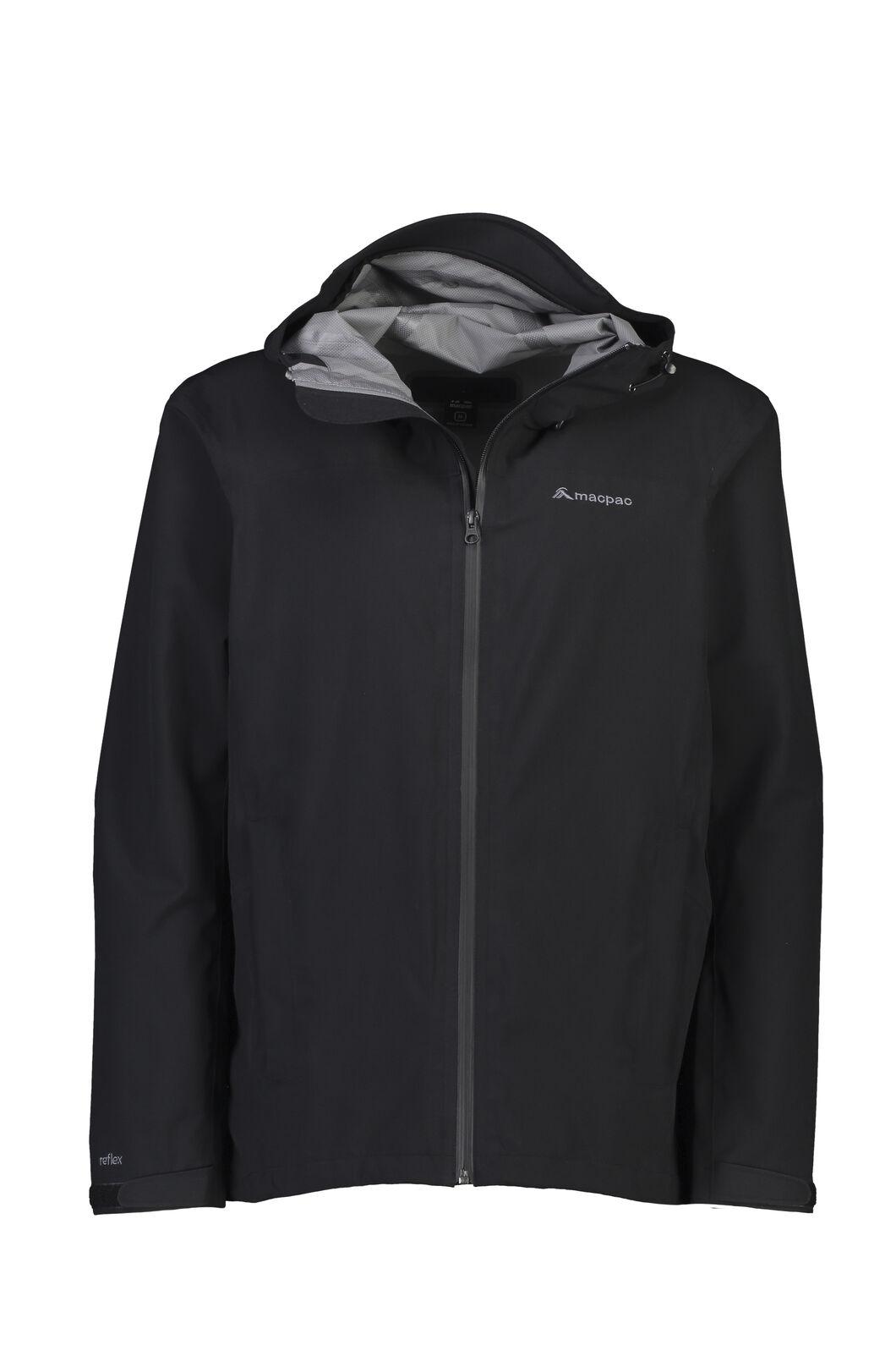 Macpac Dispatch Rain Jacket - Men's, Black, hi-res