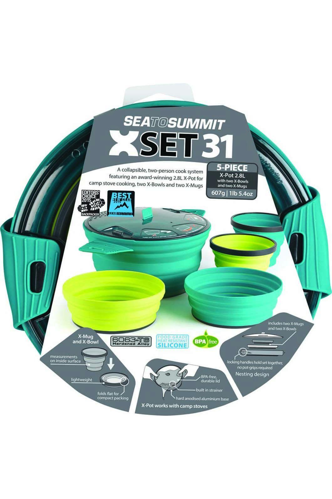 Sea to Summit 5 Piece X-Set 31 Cooking Set, None, hi-res