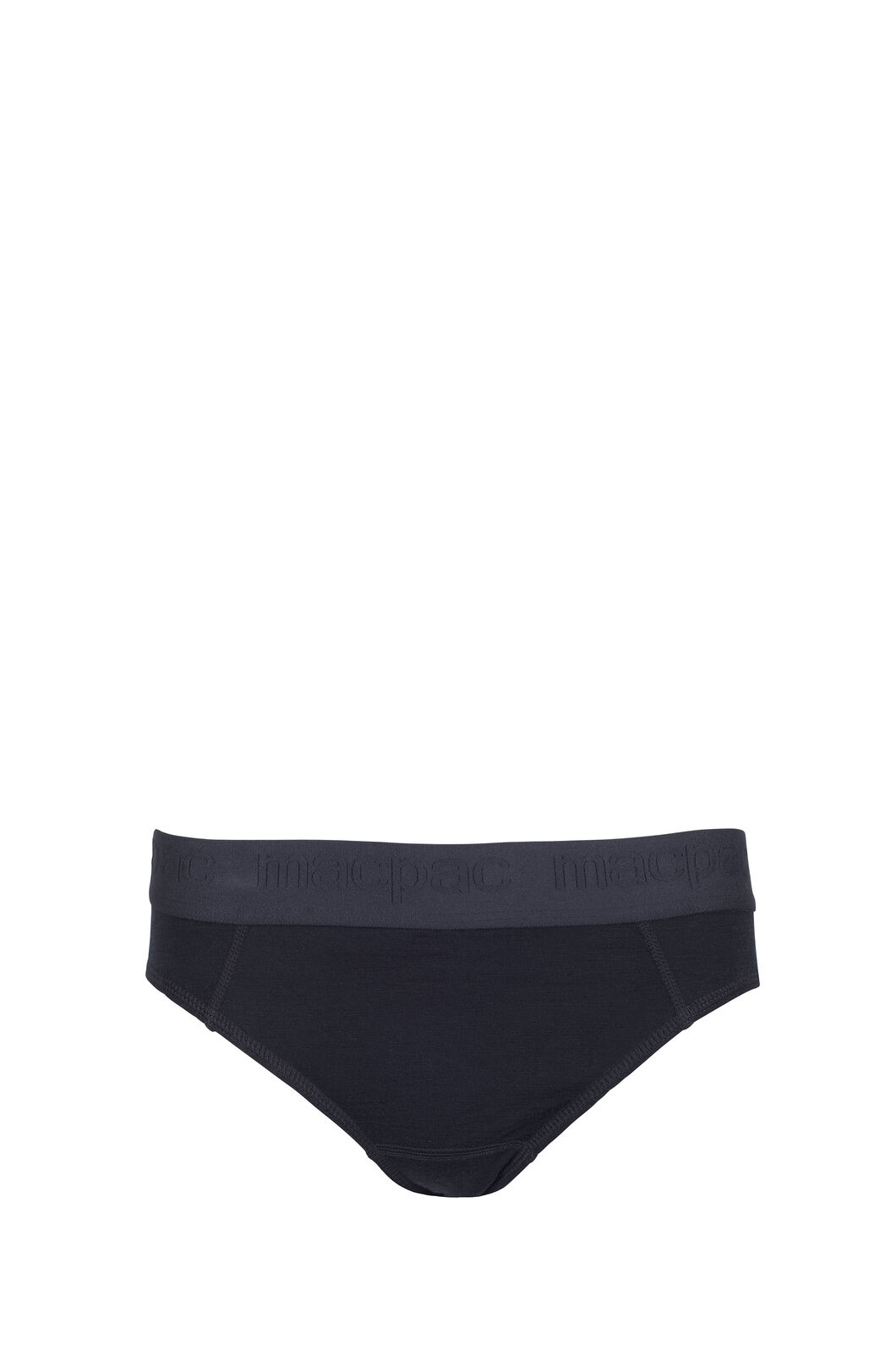 Macpac 180 Merino Brief — Women's, Black, hi-res