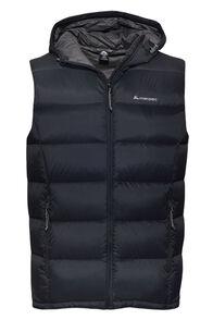 Macpac Men's Halo Hooded Down Vest, Black, hi-res