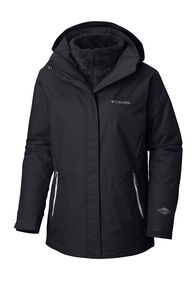 Columbia Bugaboo™ II Fleece Interchange Jacket — Women's, Black/White, hi-res