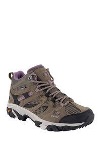 Hi-Tec Ravus Vent WP Hiking Boots — Women's, Smokey Brown/Taup/Grape, hi-res