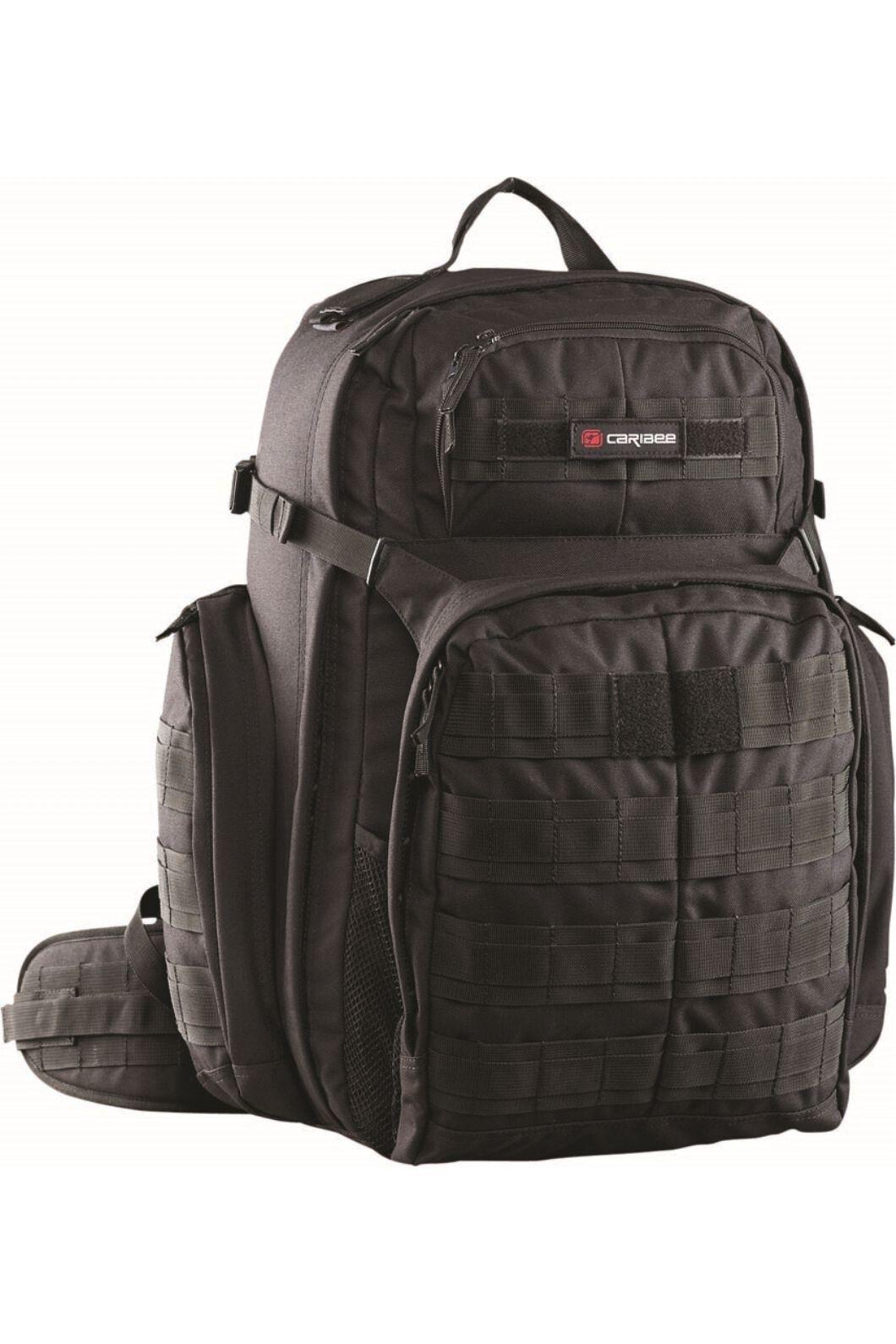 Caribee OPS Auscam Daypack, Black, hi-res