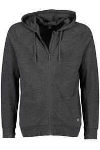 Macpac No Borders Merino Hoody - Men's, Charcoal Marle, hi-res