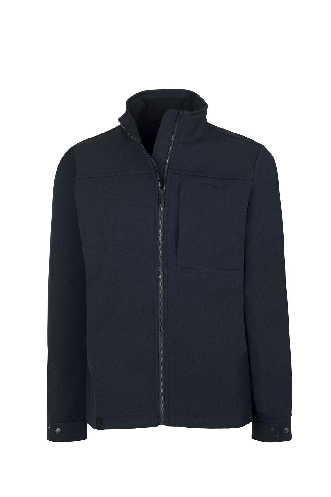 Macpac Chord Softshell Jacket — Men's, Carbon, hi-res