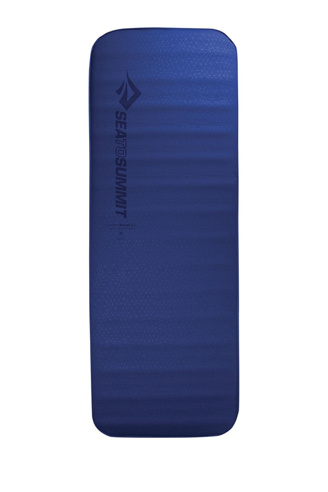 Sea to Summit Comfort Deluxe S.I.™ Sleeping Mat — Regular Wide, None, hi-res