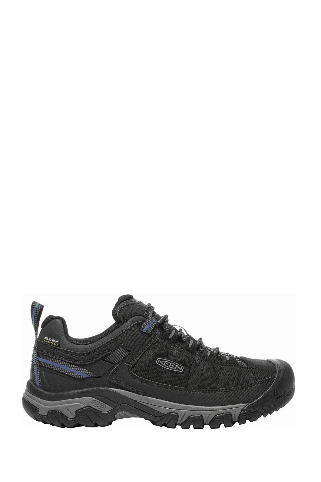 Keen Targhee EXP WP Hiking Shoes - Men's, Black/Steel Grey, hi-res