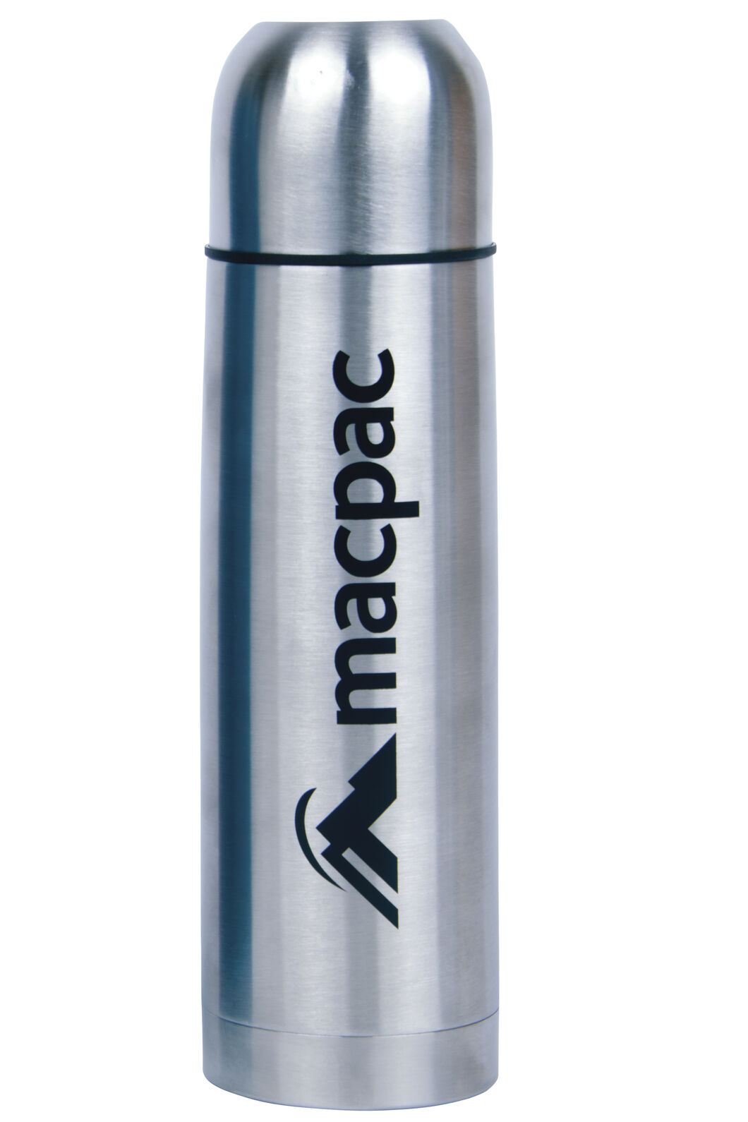 Macpac Stainless Steel Flask 500mL, Silver Alloy, hi-res