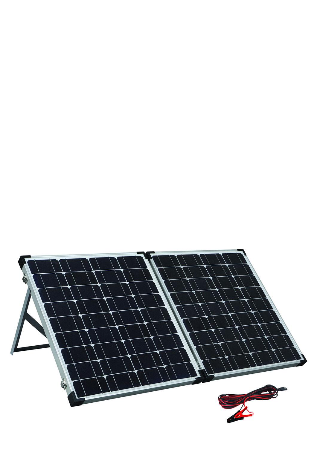 Solution X 100W Folding Solar Panel Kit, None, hi-res