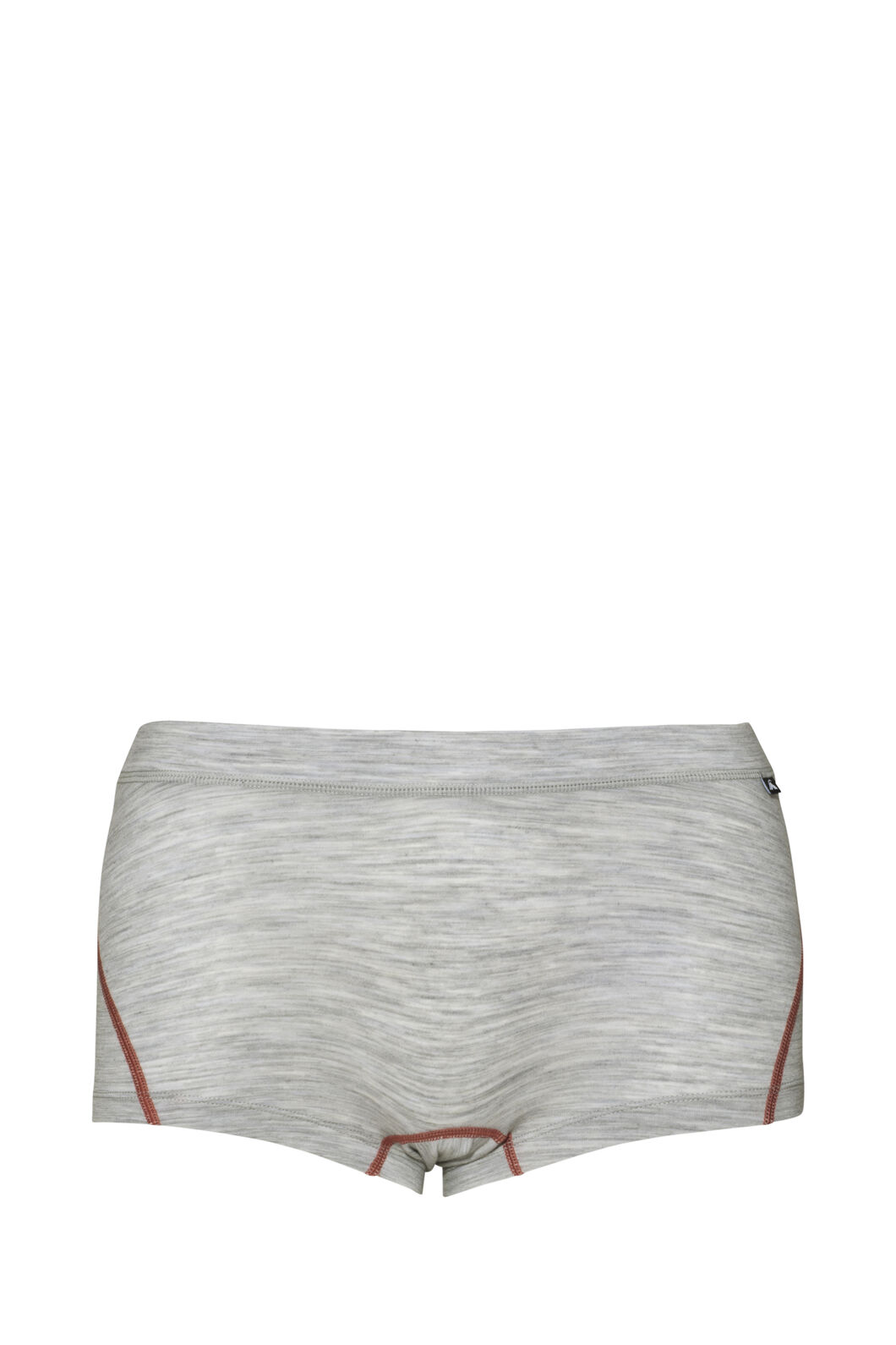 Macpac 180 Merino Boxers — Women's, Light Grey Marlel/Dusty Cedar, hi-res