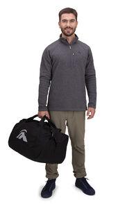 Macpac 50L Duffel Bag, Black, hi-res