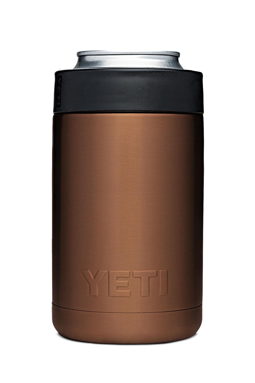 YETI® Rambler Colster Stubby Holder With Metallic Finish — 12oz, Copper, hi-res