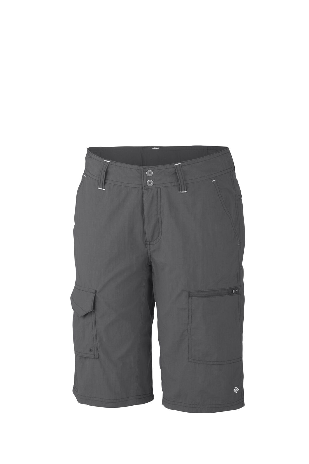 Columbia Silver Ridge™ Cargo Shorts — Women's, Grill, hi-res