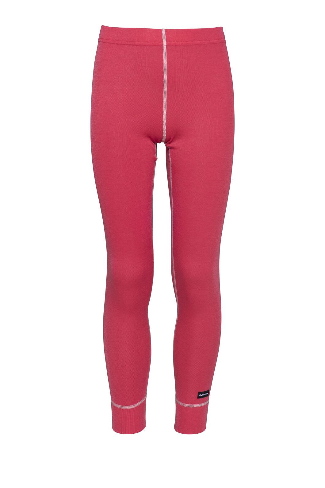 Macpac Geothermal Pants — Kids', Rouge Red, hi-res