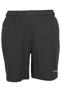 Macpac Fast Track Shorts - Kids', Black, hi-res