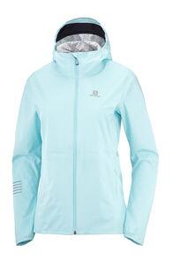 Salomon Women's Bonatti Rain Jacket, Crystl Bl/Mallard Blue, hi-res