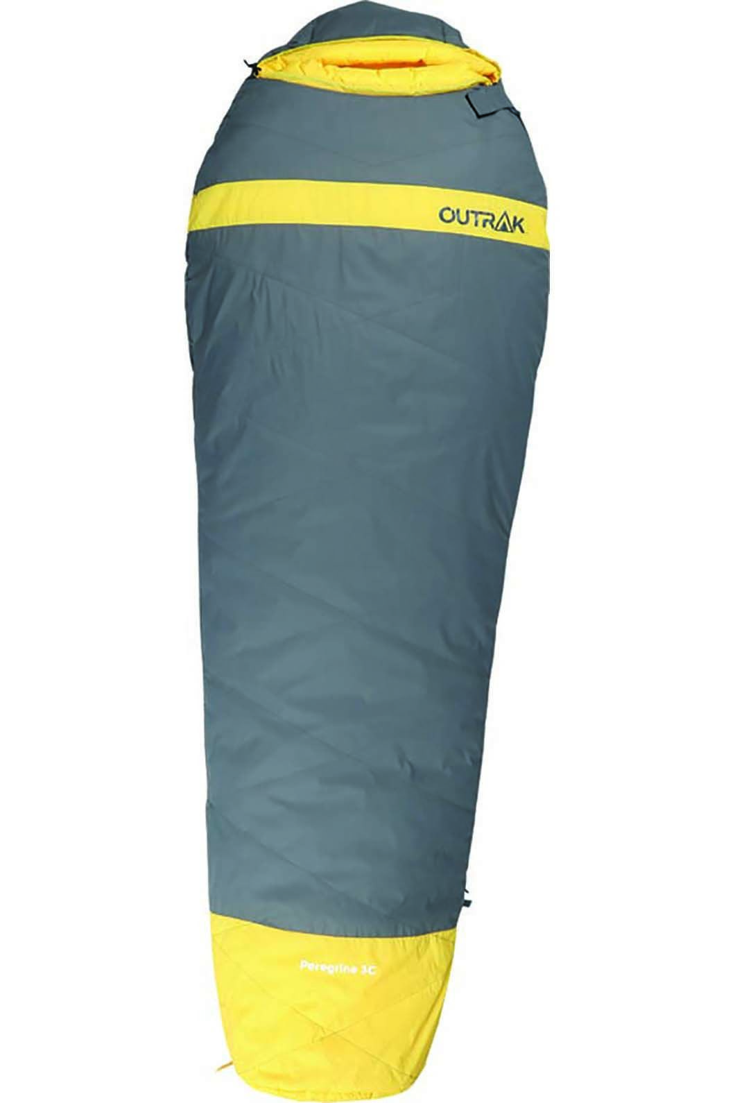 Outrak Peregrine Sleeping Bag 3 Yellow, None, hi-res