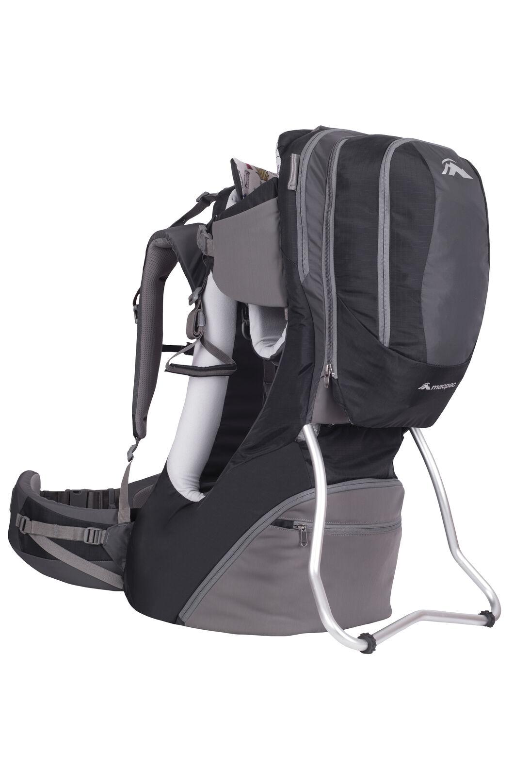 Vamoose Child Carrier V2, Black/Forged Iron, hi-res