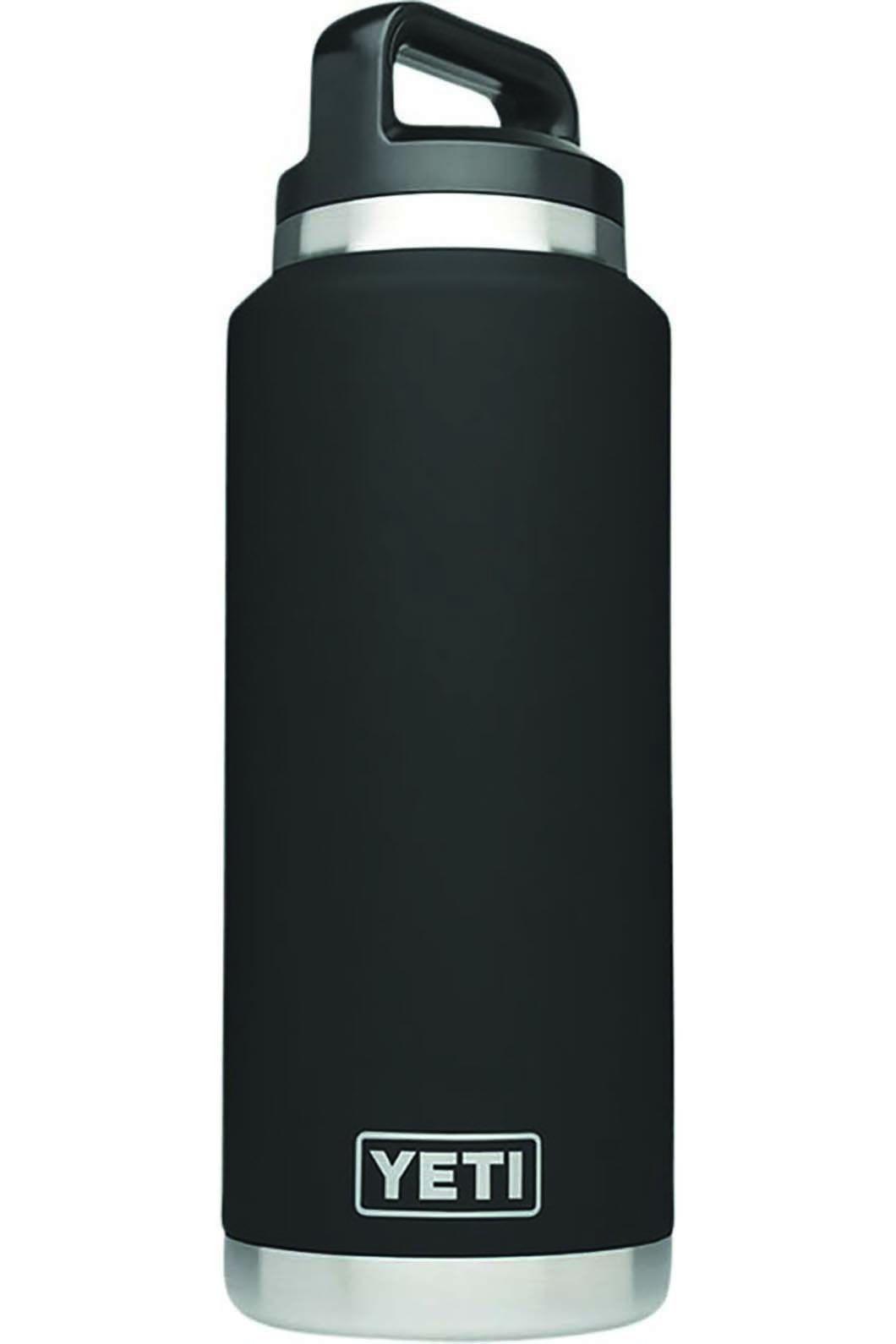 Yeti Rambler Drink Bottle, Black, hi-res