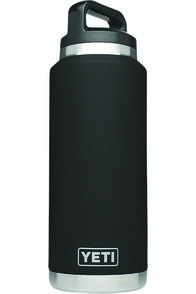 Yeti Rambler Drink Bottle, Black, hi-res