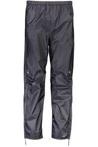 Macpac Hightail Pertex Shield® Rain Pants - Men's, Black, hi-res