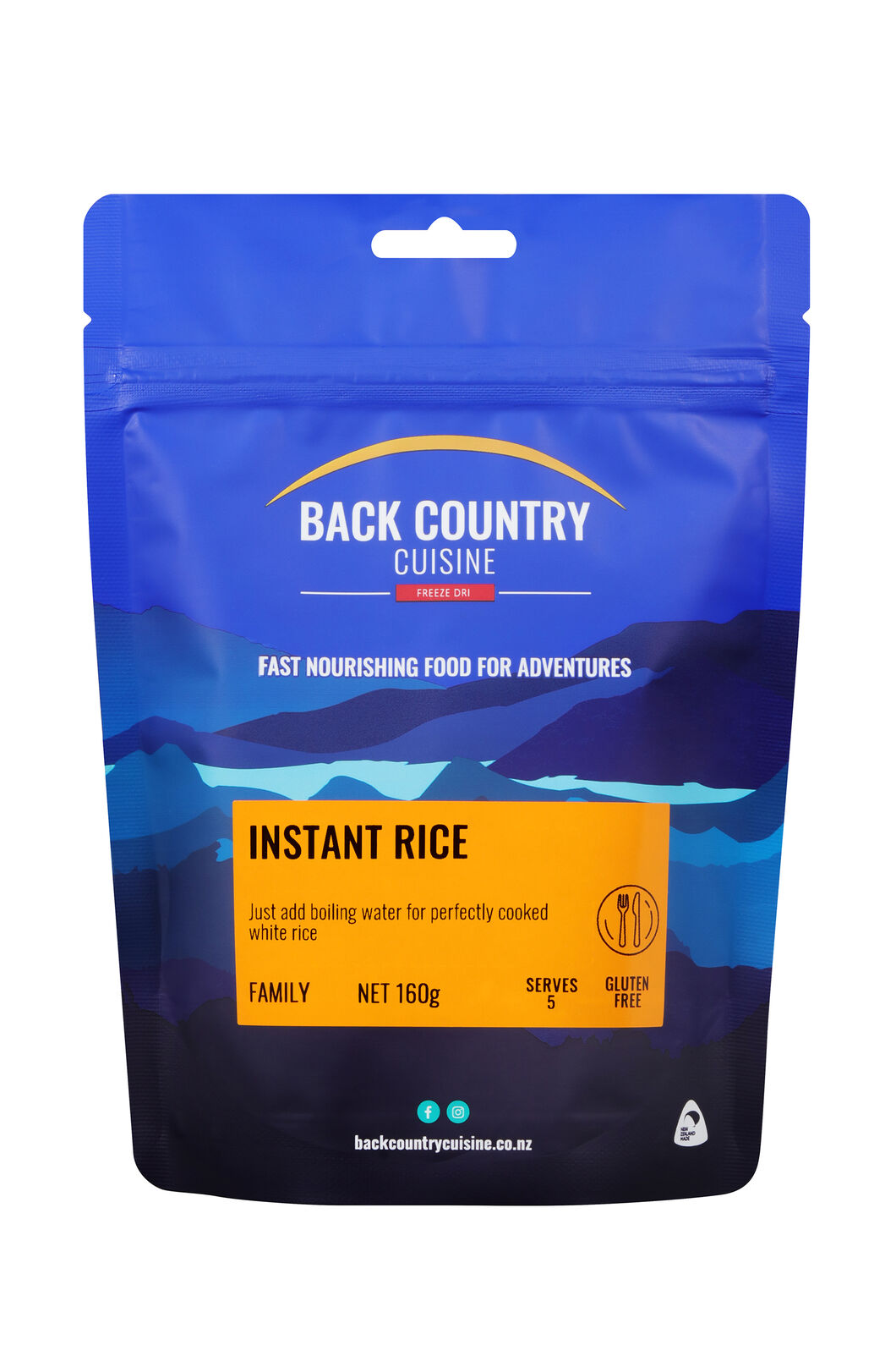 Back Country Instant Rice — Gluten Free, None, hi-res
