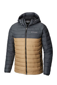 Columbia Powder Light Jacket — Men's, Beach/Graphite/Black, hi-res