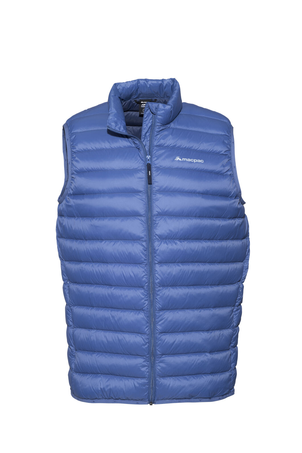 Macpac Uber Light Down Vest — Men's, True Navy, hi-res