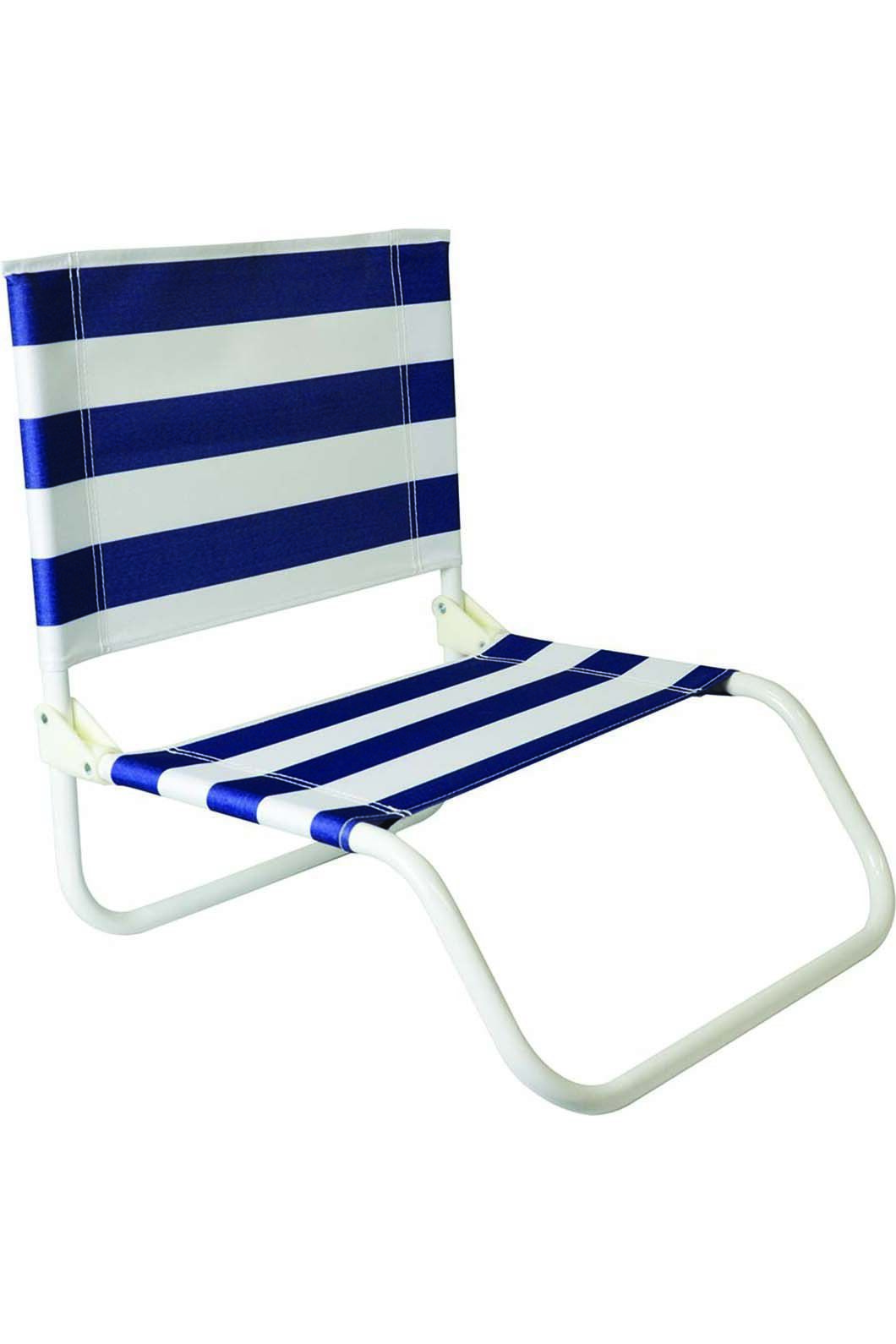 Folding Beach Chairtripe, None, hi-res