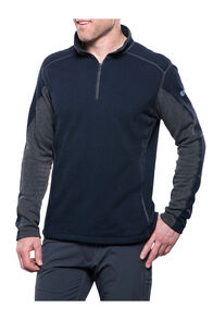 Kuhl Revel™ 1/4 Zip Sweater — Men's, Mutiny Blue/Steel, hi-res