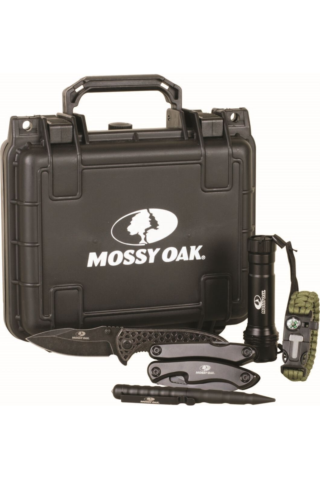 Mossy Oak 7 Piece Survival Tool Kit, None, hi-res