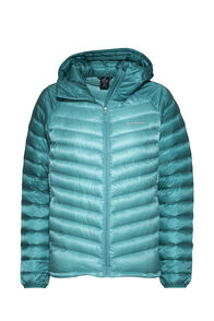 Macpac Icefall HyperDRY™ Hooded Jacket — Women's, Turquoise/Columbia, hi-res