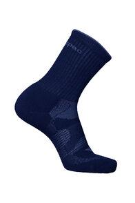 Merino Crew Socks, Navy, hi-res