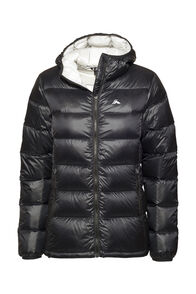 Macpac Jupiter Hooded Down Jacket — Women's, Black, hi-res