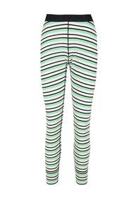 Macpac 220 Merino Long Johns — Women's, Misty Jade/Katydid Stripe, hi-res