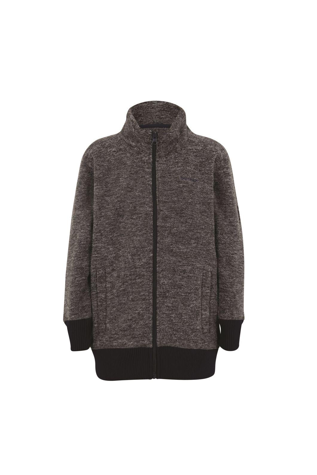 Outrak Kids' Yak Fleece Jacket, Grey Marle, hi-res