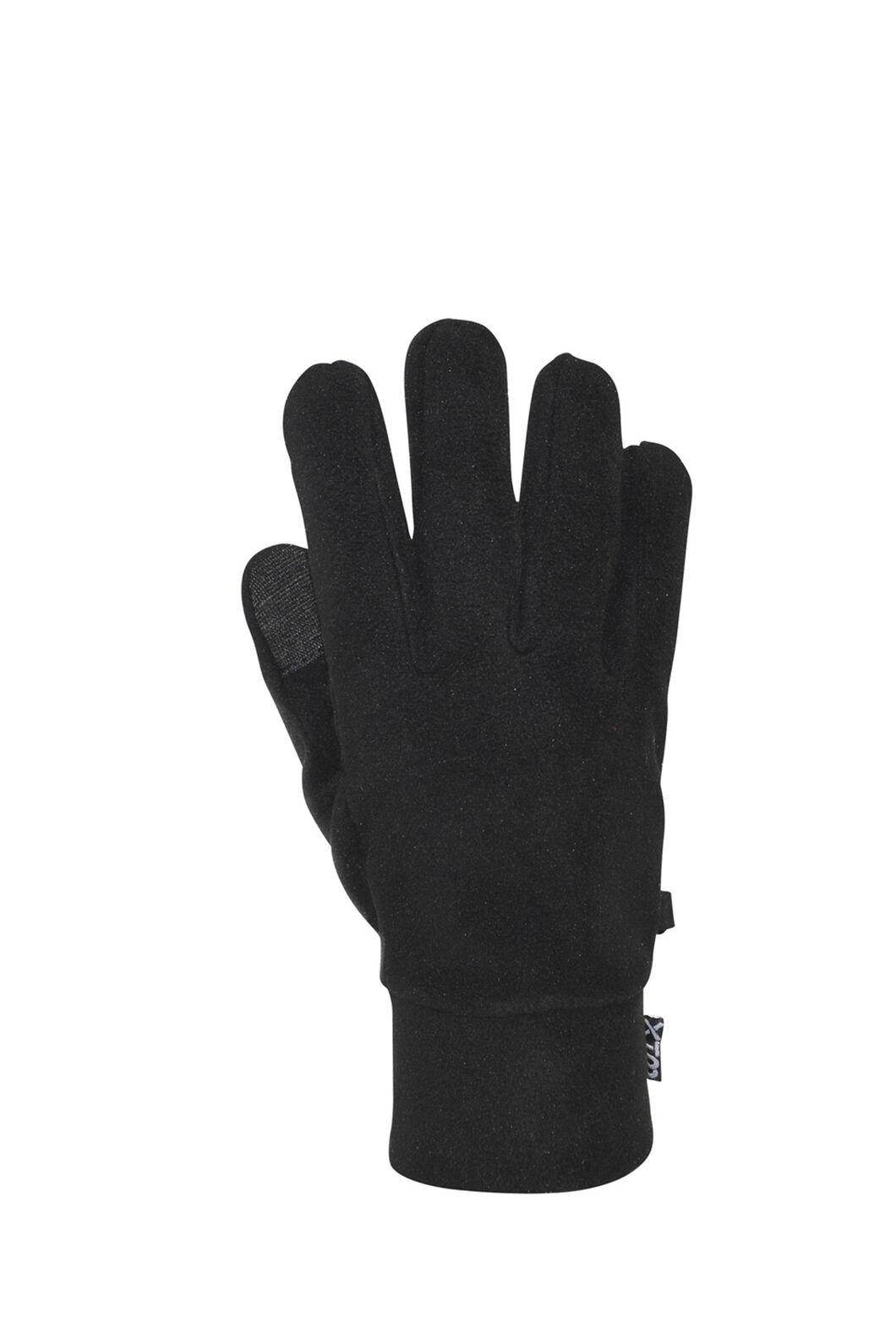 XTM Muse Fleece Gloves - Men's, Black, hi-res