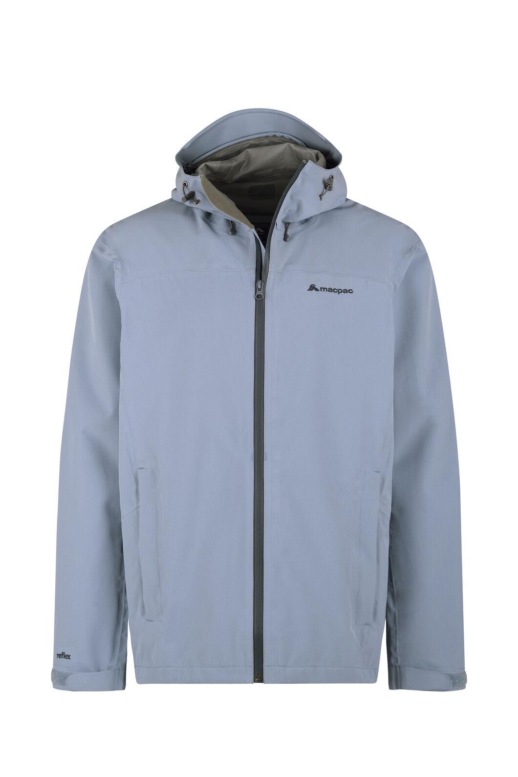 Macpac Dispatch Rain Jacket — Men's, Flint Stone, hi-res