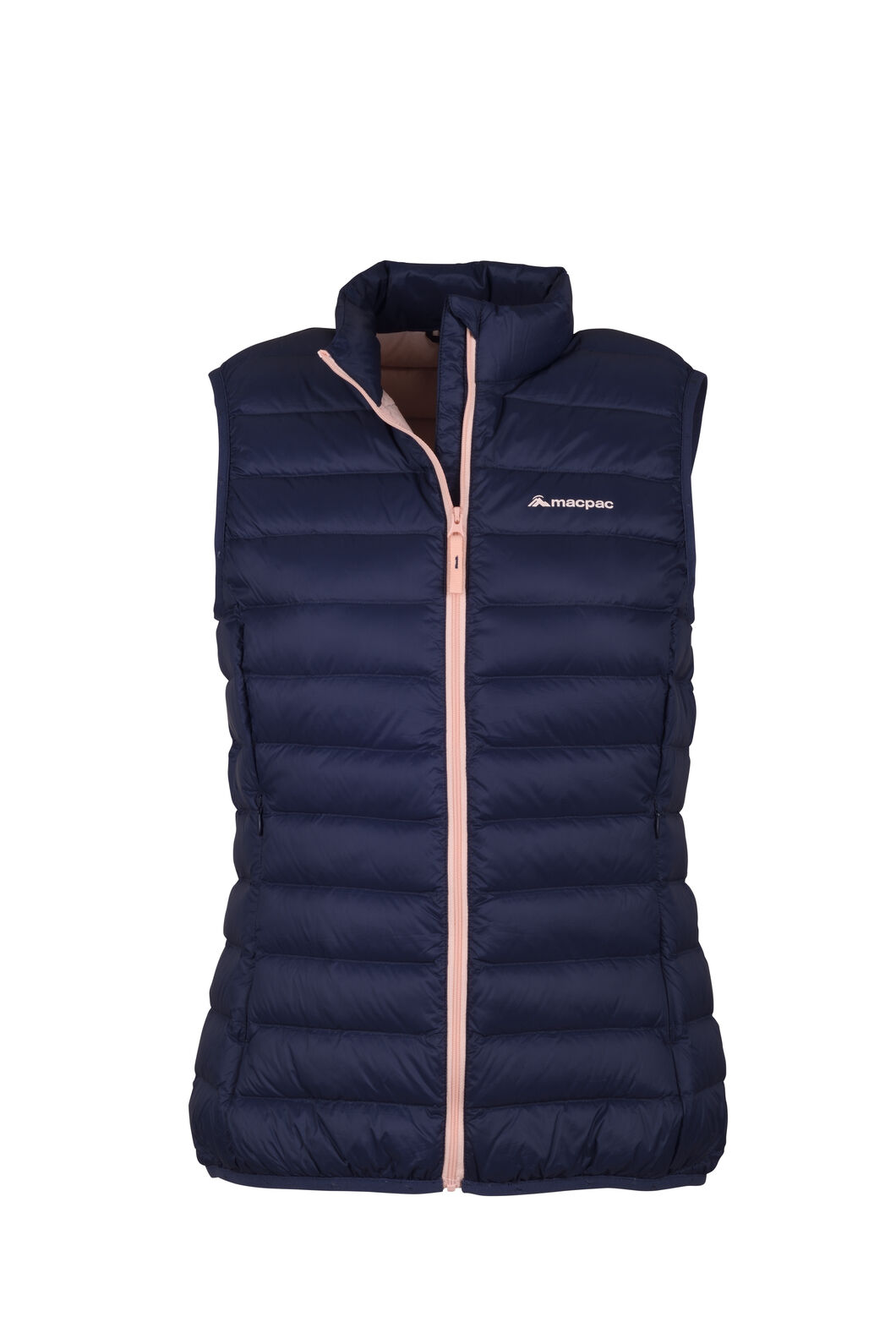 Macpac Uber Light Down Vest - Women's, Mood Indigo, hi-res
