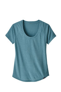 Patagonia Capilene Cool Trail Shirt — Women's, Mako Blue, hi-res