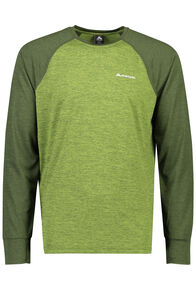 Take a Hike Long Sleeve Top - Men's, Peridot, hi-res