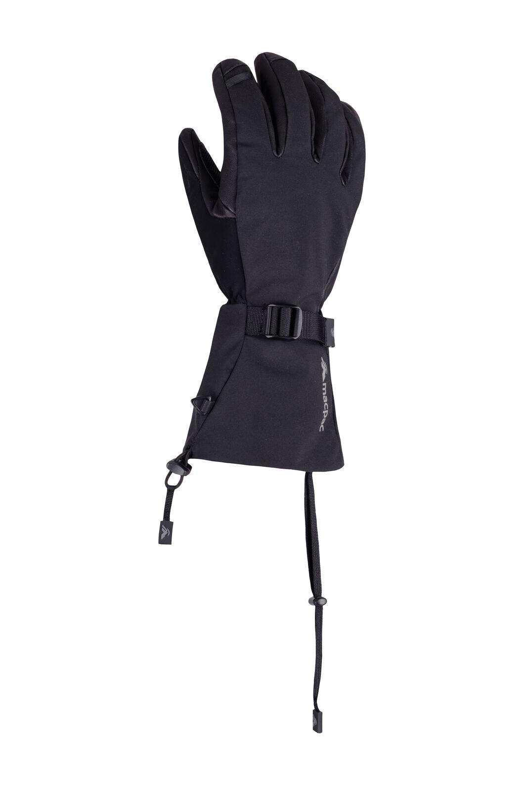 Macpac Powder Reflex™ Gloves, Black, hi-res