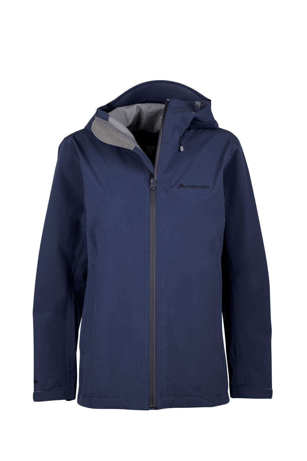 Macpac Women's Dispatch Rain Jacket, Black Iris, hi-res