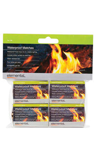 Elemental 4 Pack Waterproof Matches, None, hi-res