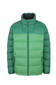 Macpac Atom Down Jacket — Kids', Bospherus/Bright Green, hi-res