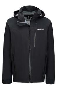 Macpac Traverse Pertex® Rain Jacket — Men's, Black, hi-res
